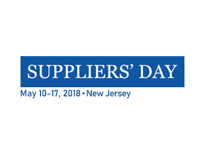 Suppilers' Day (New Jersey)_2015.05.10 - 2015.05.17